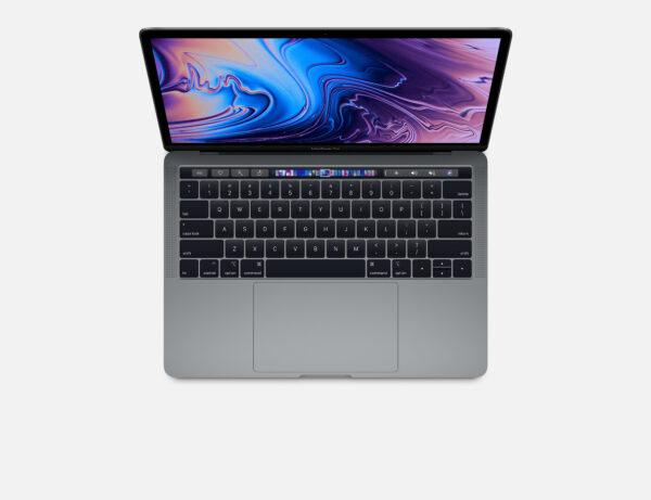 Apple Macbook Pro 13 Touchbar A1989 Cinza Espacial Img 01