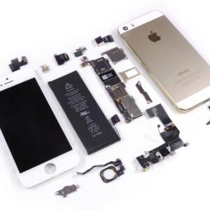 Apple Iphone 5s Dourado Desmontado Img 01