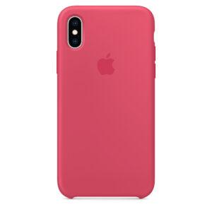 Capa De Silicone Para Iphone Xs Max Hibisco Img 01