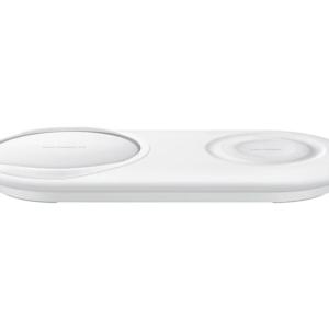 Carregador Rápido Sem Fio Duplo Pad Samsung Ep P5200twpgbr Branco Img 01