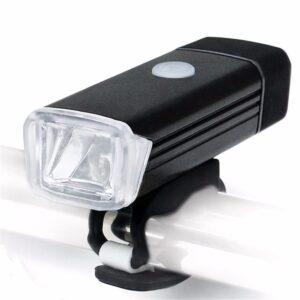 Farol de Bike Super Branca LED 180 Lumens Recarregavel USB MC QD001 IMG 01