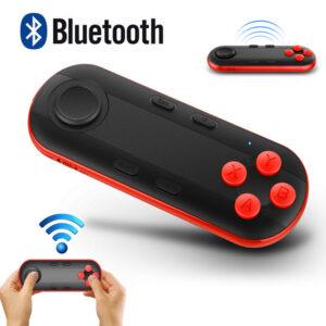 Gamepad 3d Vr Controle Sem Fio Bluetooth Para Android Ios Pc Vr Preto Img 01