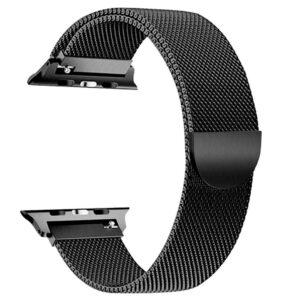 Pulseira Apple Watch Milanese Magnetica Preta Img 01