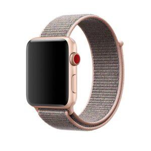 Pulseira Nylon Rosa Apple Watch