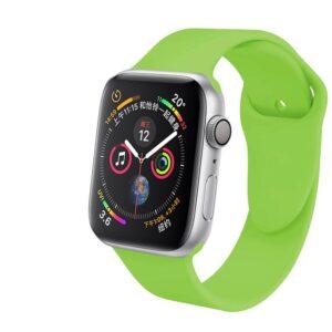 Pulseira Silicone Esporte Apple Watch Verde Img 01